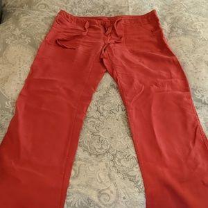 Cynthia Rowley loose fitting pants.